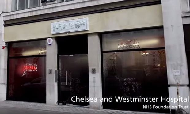 Image Credit: Chelsea and Westminster NHS Trust/Video grab, via the Guardian