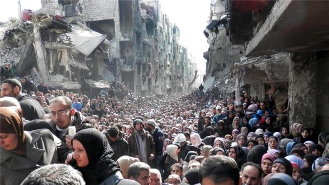 Global Feature | Palestinian-Syrian Refugees