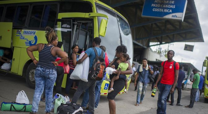 Costa Rica News | Haitian Migrants